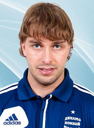 Игрок Динамо Михаил Анисин