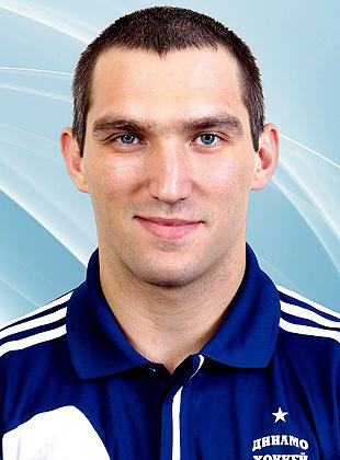 Игрок Динамо Овечкин Александр