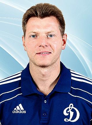 Игрок Динамо Сергей Соин