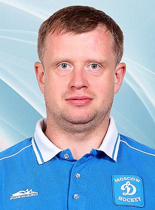 Игрок Динамо Максим Соловьев