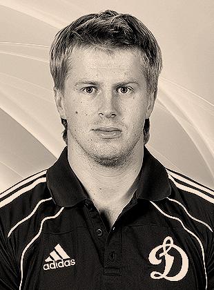 Игрок Динамо Денис Толпеко