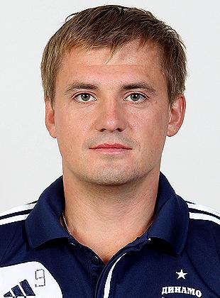 Игрок Динамо Алексей Цветков